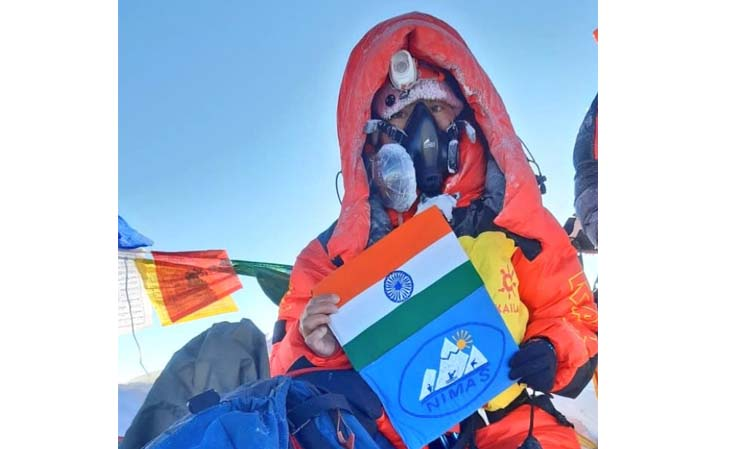'Arunachal's Tashi Yangjom becomes first Indian to scale Mt Everest this season'