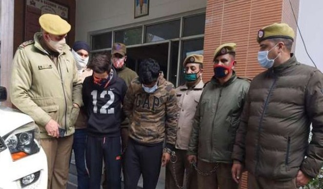 'Two Bandipora youth held for executing Bank ATM Guard's murder in Jammu'