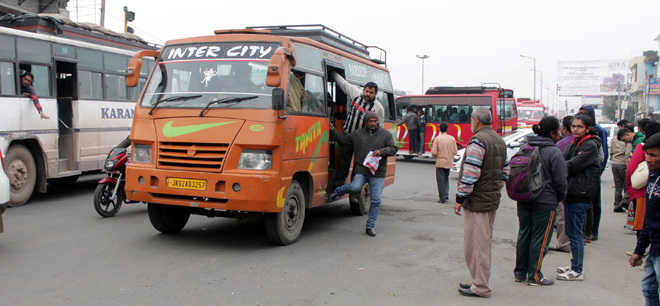 'Public transport to ply in Jammu from tomorrow as Government approves 30% hike in passenger fare'